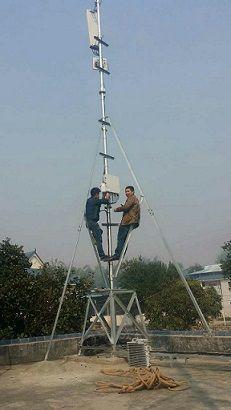通讯公司信号塔基站图片