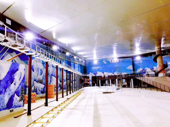 石林冰雪海洋世界冰雪乐园将于2月16日开业图片