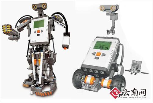 自己动手组装乐高机器人?这些就显得新鲜了吧!