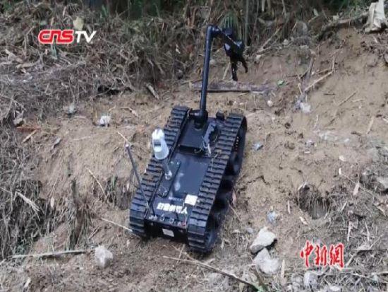 中越边境云南段和平硝烟四起 机器人参与第三次排雷